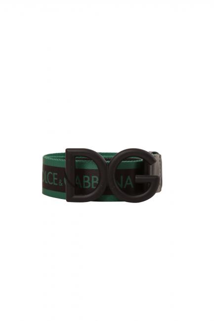 Женский пояс Dolce & Gabbana зеленый BC4266AA6568S688