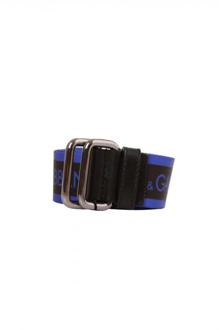 Женский пояс Dolce & Gabbana синий BC4267AA6568B875