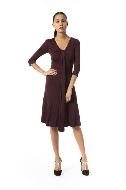 Платье Byblos D2BGD40310219_516BORDEAUXSCURO