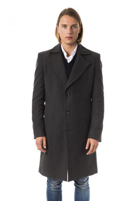 Пальто Byblos C8DGD9P815011_818CARBONE