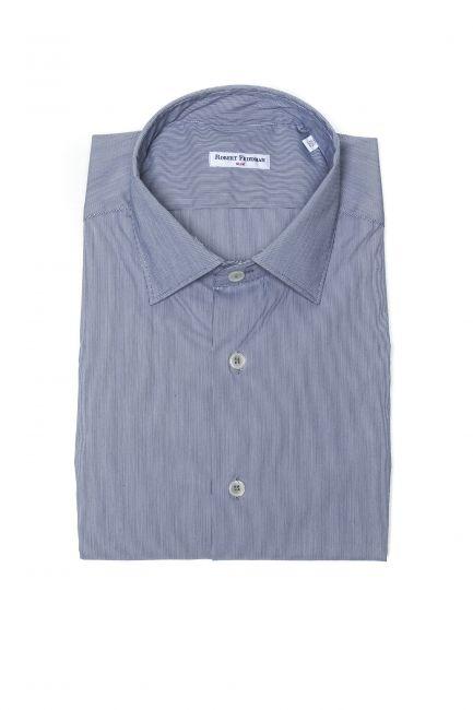 Рубашка Robert Friedman LEO1SL_56966_021BiancoAzzurro