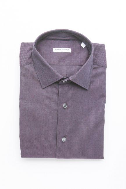 Рубашка Robert Friedman LEO1SL_57268_038NeroBordeaux