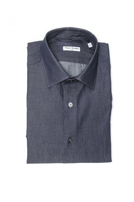 Рубашка Robert Friedman LEO1SL_08485_996NeroRosso