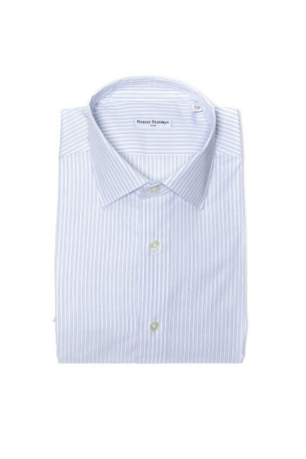 Рубашка Robert Friedman LEO1SL_54199_019BiancoAzzurro