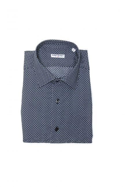 Рубашка Robert Friedman LEO1SL_57659_850BluBianco
