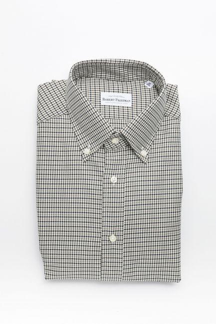 Рубашка Robert Friedman RALPHRL_09620_998BeigeNeroNavy