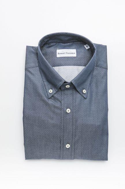 Рубашка Robert Friedman RALPHRL_57274_041NavyBianco