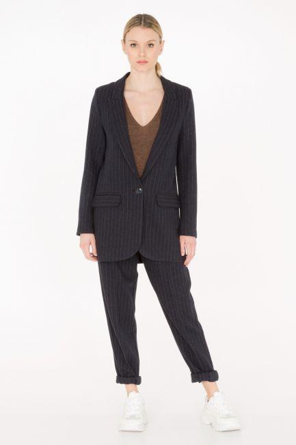 Пиджак Cristina Gavioli JA0020 blu