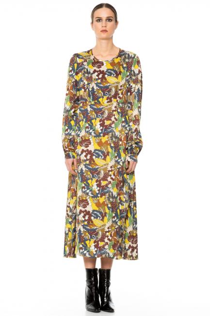 Платье женское Cristina Gavioli CA1001 Multicolore