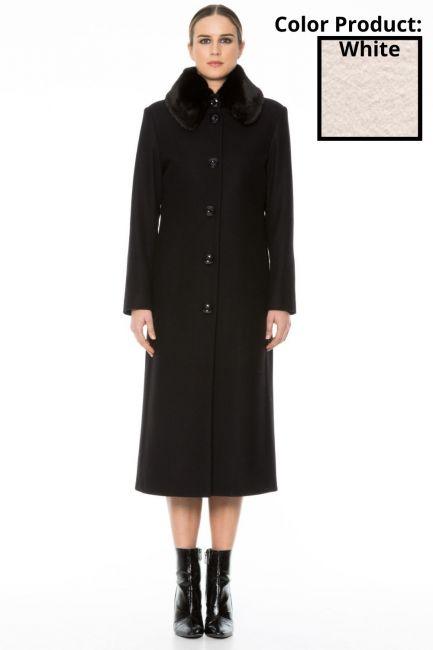Пальто женское Cristina Gavioli CA1010 Naturale