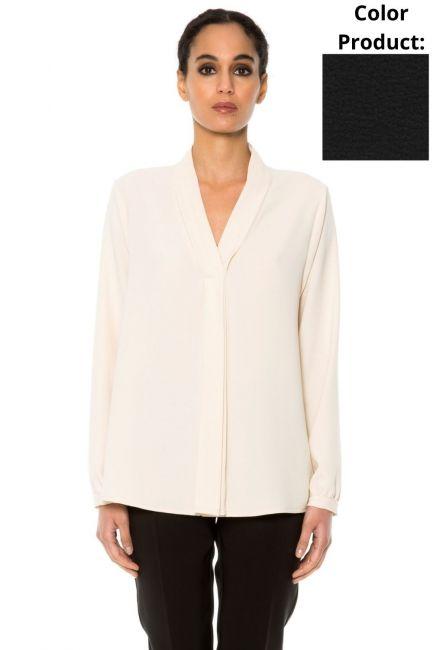 Рубашка женская Cristina Gavioli CA1026 Nero