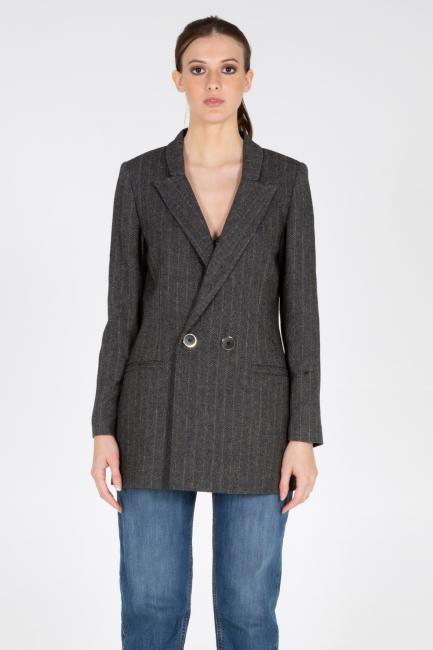 Пиджак женское Cristina Gavioli CA1029 Grigio