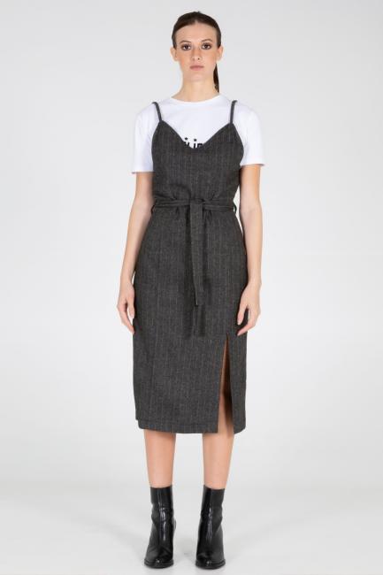 Платье женское Cristina Gavioli CA1032 Grigio