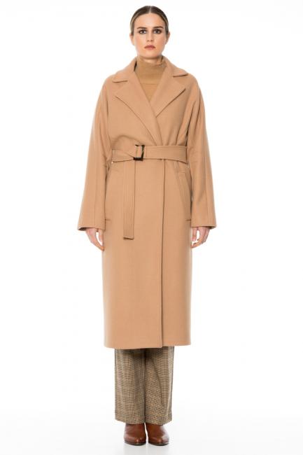 Пальто женское Cristina Gavioli CA1039 Cammello