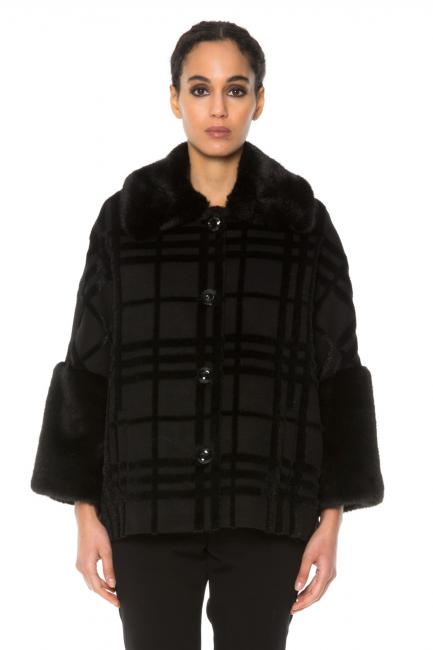 Пальто женское Cristina Gavioli CA1042 Nero