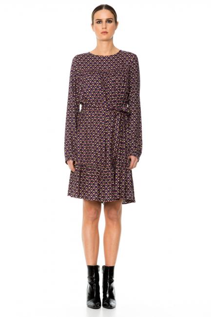 Платье женское Cristina Gavioli CA1059 Blu/fuxia