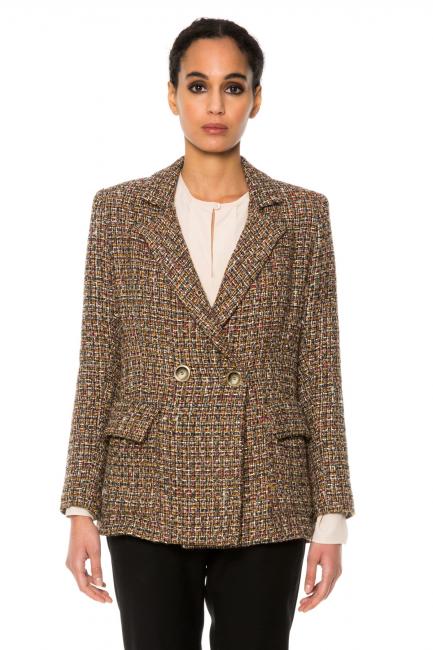 Пиджак женское Cristina Gavioli CA1066 Marrone