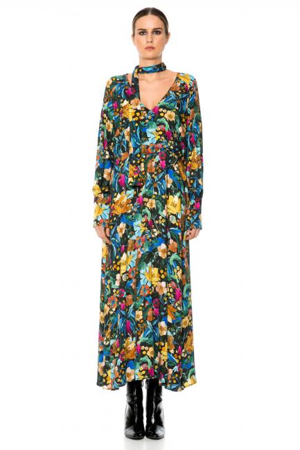 Платье женское Cristina Gavioli CA1070 Multicolore