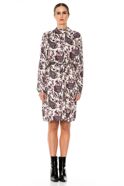 Платье женское Cristina Gavioli JA1005 Blu/naturale