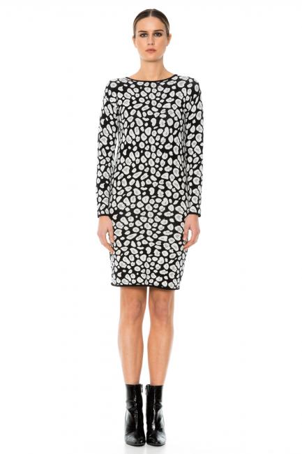 Платье женское Cristina Gavioli KA1053 Nero
