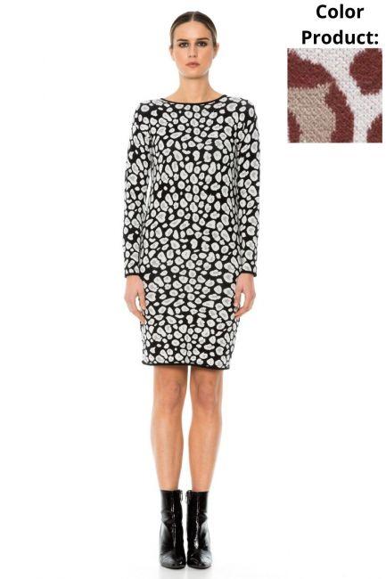 Платье женское Cristina Gavioli KA1053 Coccio