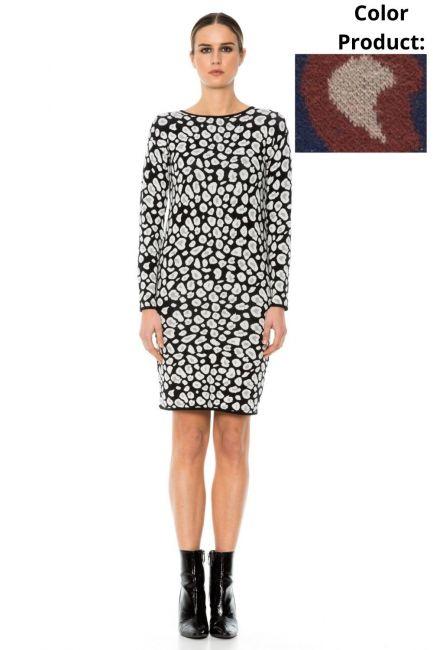 Платье женское Cristina Gavioli KA1053 Blu