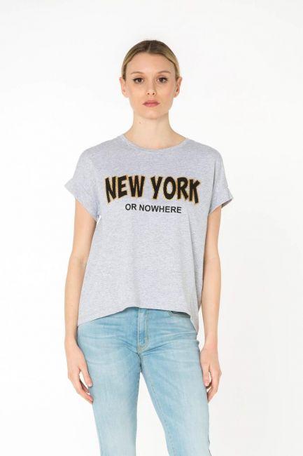 Cristina Gavioli футболка женская JP0076_grigio