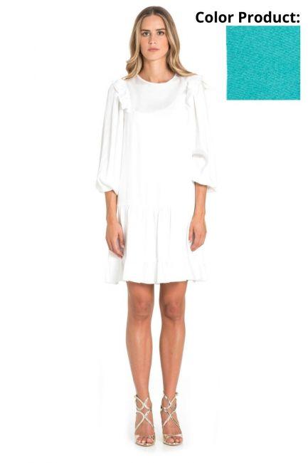 Платье Женщина Cristina Gavioli CP1066 Turchese