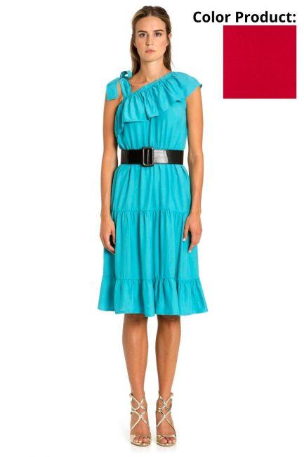 Платье Женщина Cristina Gavioli CP1086 Geranio