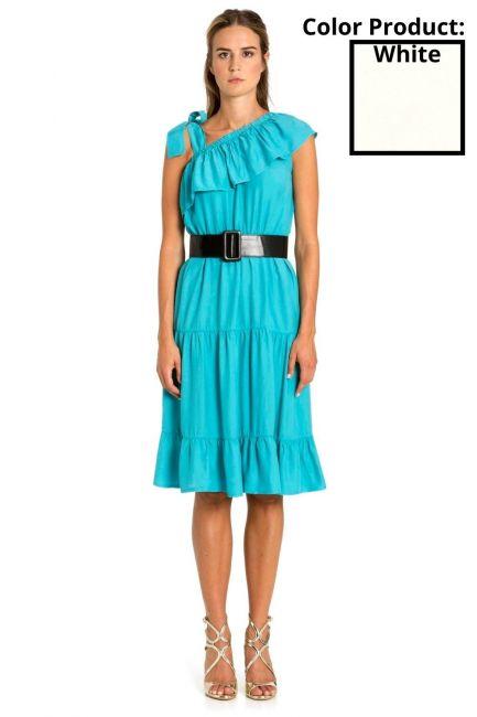 Платье Женщина Cristina Gavioli CP1086 Naturale