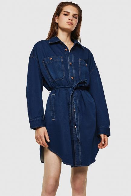Платье Diesel синий 00SZAF069IG