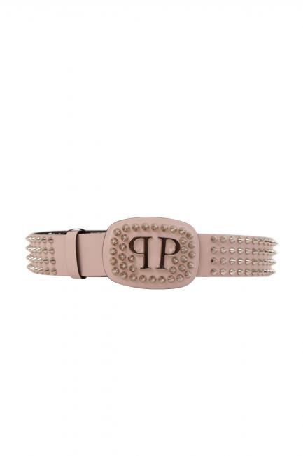 Женский пояс Philipp Plein розовый AW77249562