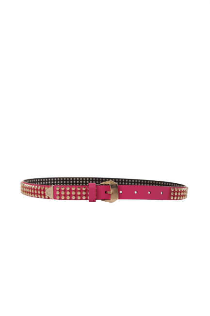 Женский пояс Philipp Plein розовый AW7706840303