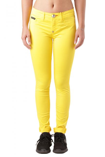 Брюки женские Philipp Plein желтый CW572570