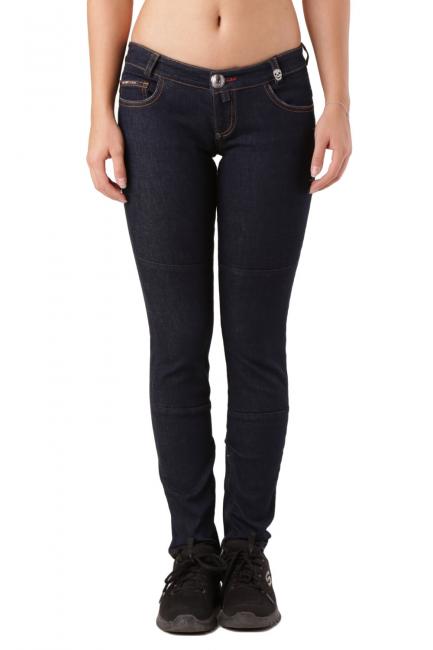 Женские джинсы Philipp Plein синий CW620421
