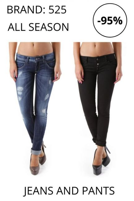 STOCK Trousers and Jeans Brand 525