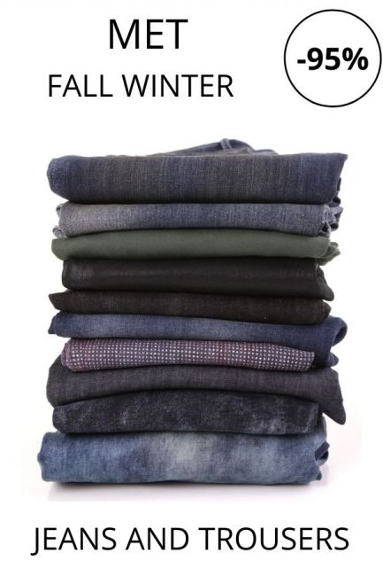 STOCK Met Jeans and Trousers woman