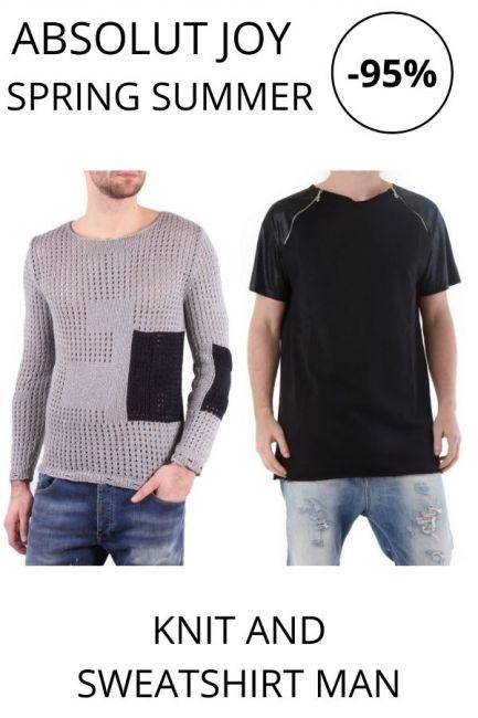 STOCK Absolut Joy Knit and Sweatshirts man