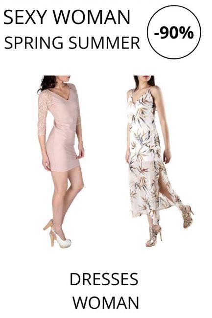 STOCK Sexy Woman Dresses woman