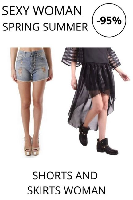 STOCK Sexy Woman Shorts and Skirts woman