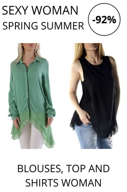 STOCK Sexy Woman Blouses and Shirts woman
