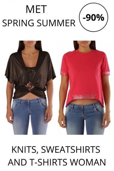 STOCK Met Knits, Sweatshirts and T-shirts woman