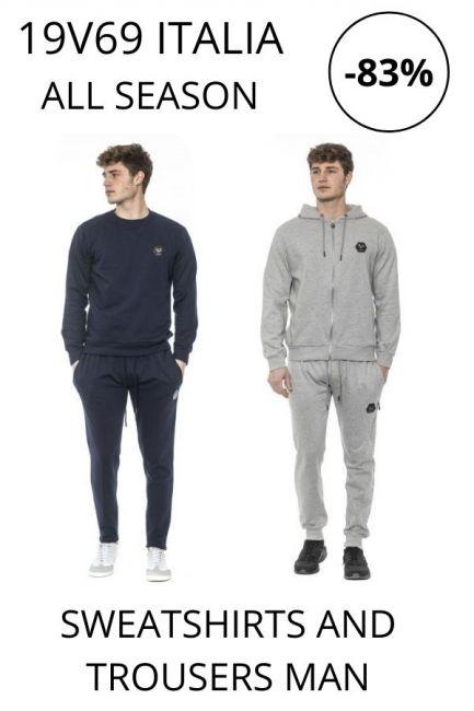 STOCK 19V69 Italia Sweatshirts and Trousers man